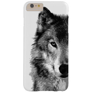 Black & White Wolf iPhone 6 Plus Case