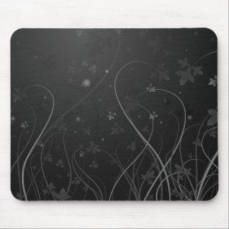 Black & White WonderSwirl Mouse Pad