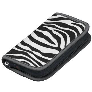 Black White Zebra Animal Print Planner