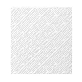 Black & White Zebra Design Notepad