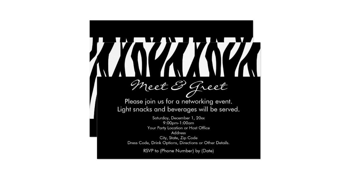 Meet And Greet Invitation Katinabags – Business Meet and Greet Invitation Wording