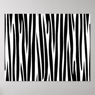 BLACK WHITE ZEBRA STRIPES ANIMAL PRINT TEXTURE TEM