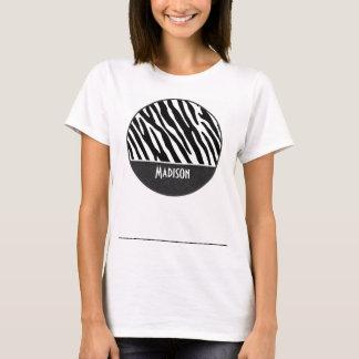 Black & White Zebra Stripes T-Shirt