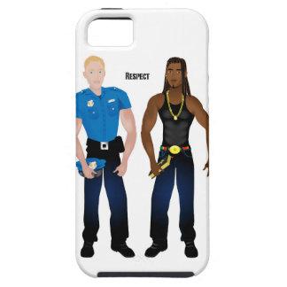 Black&WhiteCop iPhone SE/5/5s Case
