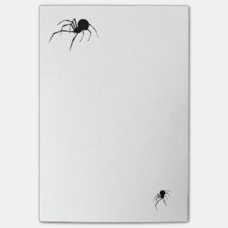 black widow 4x6 post-it notes