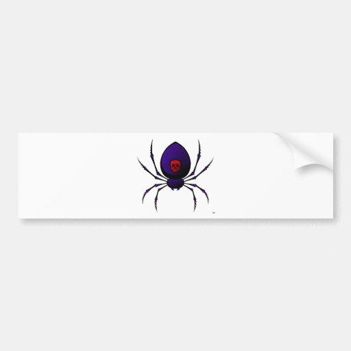 Black Widow Bumper Stickers
