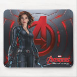 Black Widow Character Art Mouse Pad