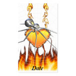 Black Widow Chrome Design 1 Double-Sided Standard Business Cards (Pack Of 100)