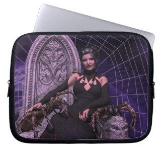 Black Widow Computer Sleeve