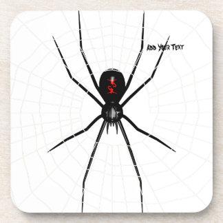 Black Widow design Coaster