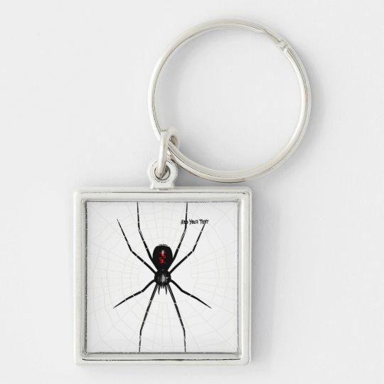 Black Widow design Keychain
