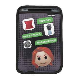 Black Widow Emoji Sleeve For iPad Mini