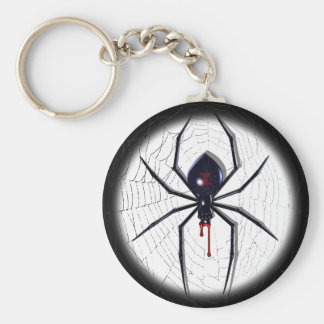 Black Widow Key Ring Keychain