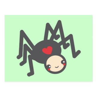 Black Widow Love Postcard