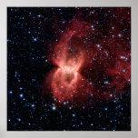 Black Widow Nebula Poster