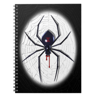 Black Widow Note Books