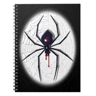 Black Widow Note Books