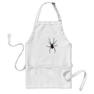 black widow on your adult apron