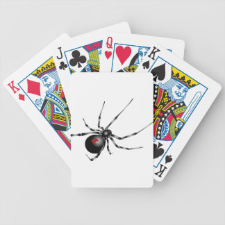 Black Widow Poker Cards