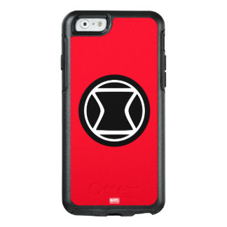 Black Widow Retro Icon OtterBox iPhone 6/6s Case