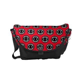 Black Widow Retro Icon Small Messenger Bag