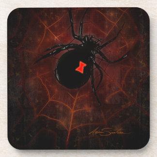 Black Widow (Signature Design) Drink Coaster