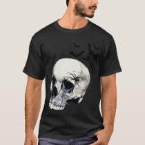 Black Widow Skull T-shirt