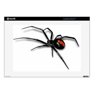 """Black Widow Spider 15"""" Laptop Skins"""