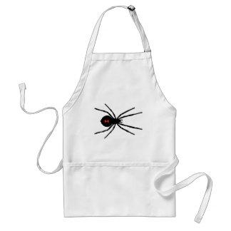 Black Widow Spider Adult Apron
