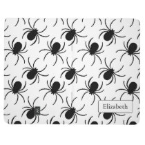black widow spider halloween pattern journal