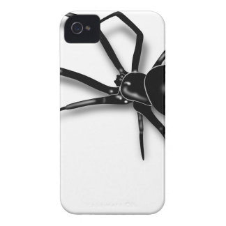 Black Widow Spider iPhone 4 Cover