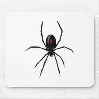 Black WIdow Spider Mouse Pad