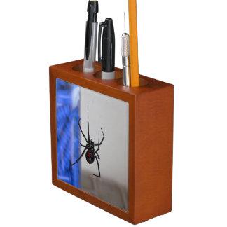 Black Widow Spider Pencil/Pen Holder
