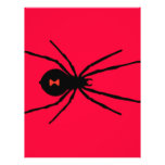 Black Widow Spider Personalized Flyer
