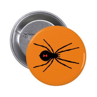 Black Widow Spider Pinback Button