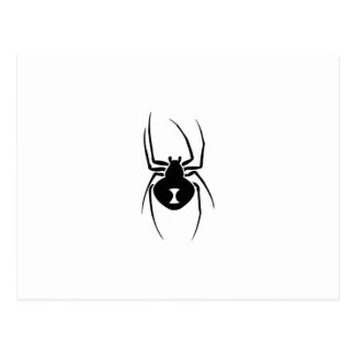 Black Widow Spider Print Postcard