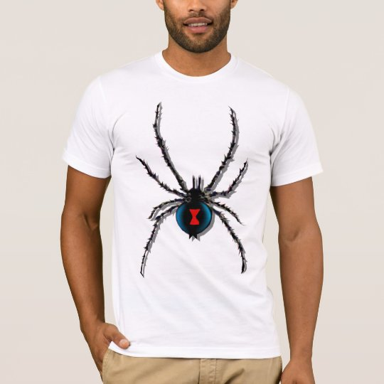 Black Widow Spider shadowed T-Shirt