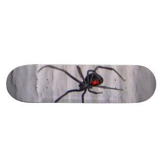 black widow spider skateboard deck