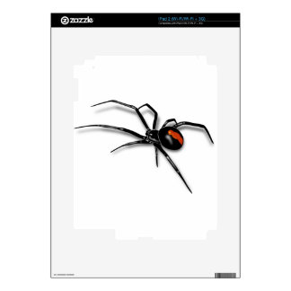 Black Widow Spider Skin For The iPad 2