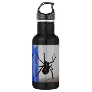 Black Widow Spider Stainless Steel Water Bottle
