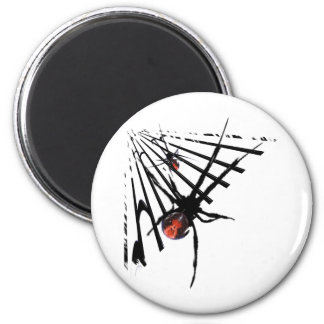 Black Widow Spider T-Shirts and Gifts! 2 Inch Round Magnet