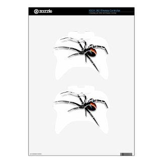 Black Widow Spider Xbox 360 Controller Decal