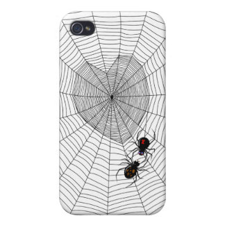 Black Widow square Case For iPhone 4