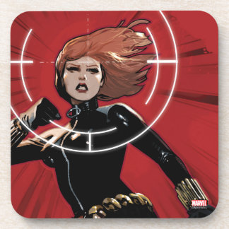 Black Widow Targeted Coaster