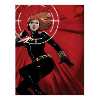 Black Widow Targeted Postcard