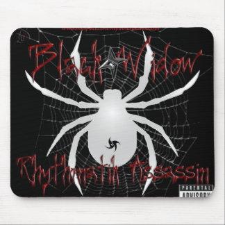 black widow web mousepad