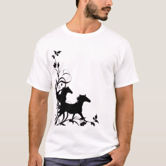 Black Wild Horses T-Shirt