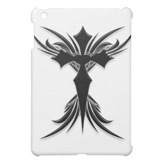 Black Winged Cross Case For The iPad Mini