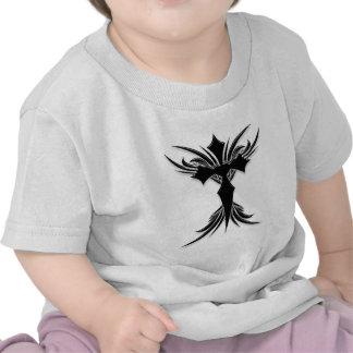 Black Winged Cross Tshirt