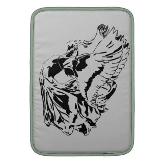 Black winged fairy sleeve for MacBook air